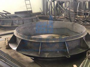 Клапан типа ПГВУ по чертежу заказчика в Энгельсе