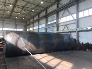 Резевуар вертикальный стальной в Кентау