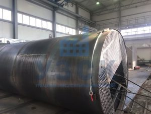 Резервуар РВС стальной вертикальный 400 кубов в Кентау