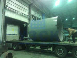 Доставка резервуара вертикального в Кентау
