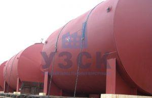 Горизонтальный резервуар РГС для ГСМ в Кентау
