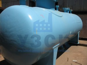 Резервуар РГС, емкость для газового конденсата с сферическими днищами в Кентау