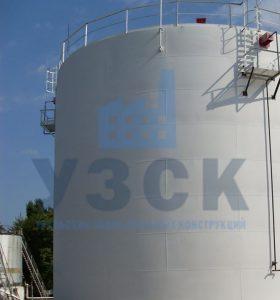 Резервуар вертикальный стальной 10000 кубов в Кентау