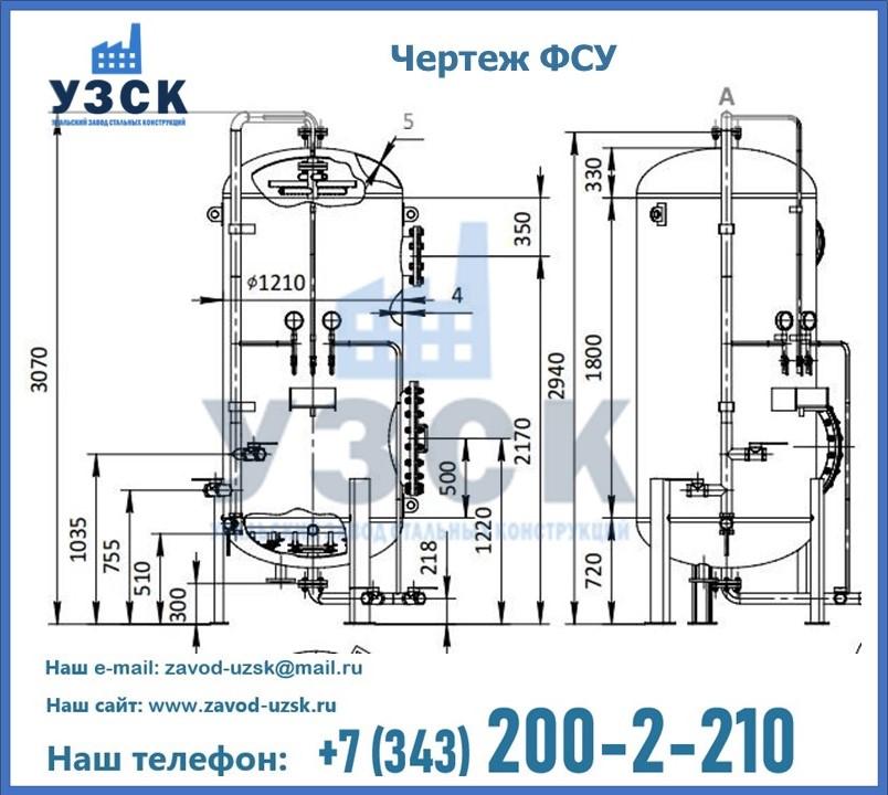 Чертеж ФСУ в Екатеринбурге