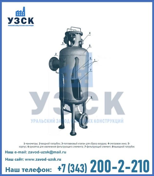 Принцип работы газового фильтра в Екатеринбурге