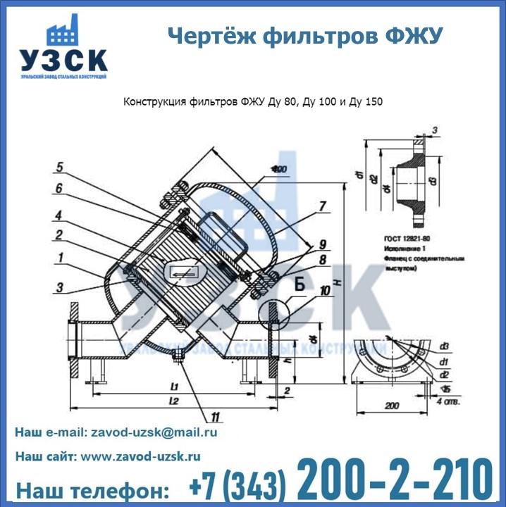 Схема работы фильтра фжу в Екатеринбурге