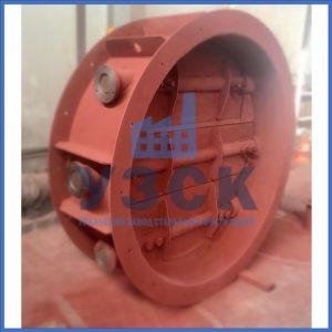 Клапан КЛК с МЭОФ трёхосный Ду 800,Ду 1000, Ду 1400 в Долгопрудном