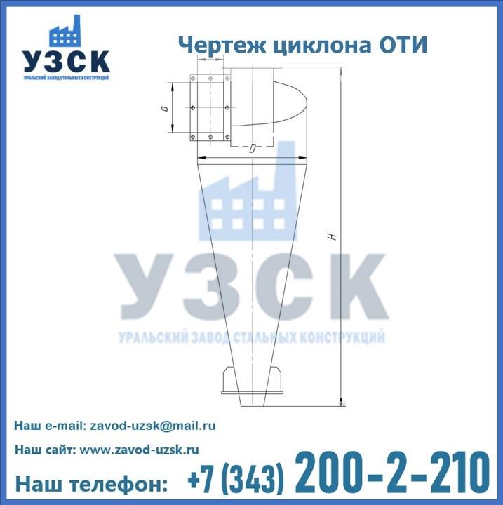 Циклоны ОТИ в Екатеринбурге