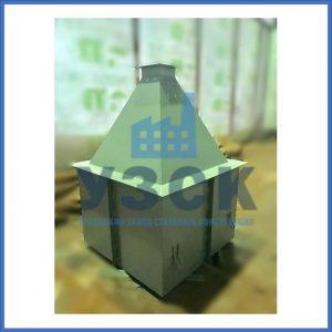 Купить бункер пирамидальный к циклонам ЦН в Ачинске