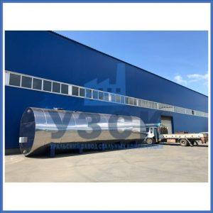 Резервуары горизонтальные стальные объёмом 100 м кубических