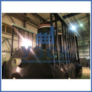 Емкости РГС 12,5 м3 с тепло и гидроизоляцией с греющим кабелем